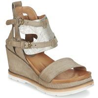 Schuhe Damen Sandalen / Sandaletten Mjus APRIL Maulwurf / Silbern