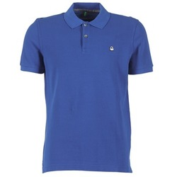 Kleidung Herren Polohemden Benetton FOBIKA Blau