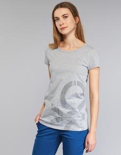 Kleidung Damen T-Shirts Benetton MADOUL Grau