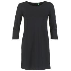 Kleidung Damen Kurze Kleider Benetton SAVONI Schwarz