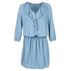 Kleidung Damen Kurze Kleider Benetton AFIDOUL Blau