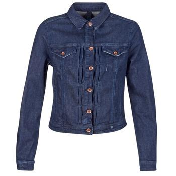 Kleidung Damen Jeansjacken Benetton FESCAR Blau