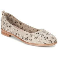 Schuhe Damen Ballerinas Clarks ALANIA ROSA Beige