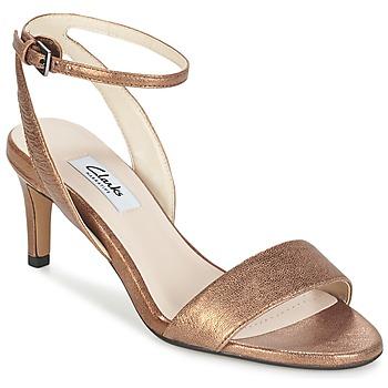 Schuhe Damen Sandalen / Sandaletten Clarks AMALI JEWEL Gold