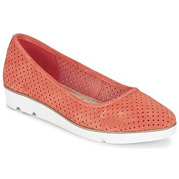 Schuhe Damen Ballerinas Clarks EVIE BUZZ Korallenrot