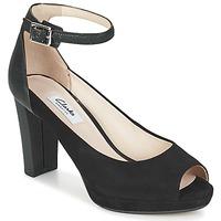 Schuhe Damen Sandalen / Sandaletten Clarks KENDRA ELLA Schwarz