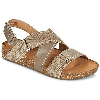 Schuhe Damen Sandalen / Sandaletten Clarks ROSILLA ESSEX Braun