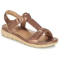 Schuhe Damen Sandalen / Sandaletten Clarks UN HAYWOOD Bronze
