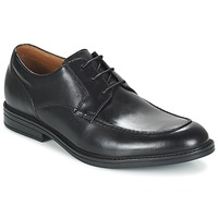 Schuhe Herren Derby-Schuhe Clarks BECKFIELDAPRON Schwarz
