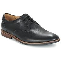 Schuhe Herren Derby-Schuhe Clarks BROYD WALK Schwarz