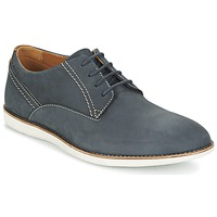 Schuhe Herren Derby-Schuhe Clarks FRANSON PLAIN Blau