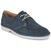 Schuhe Herren Derby-Schuhe Clarks JARETH WALK Blau