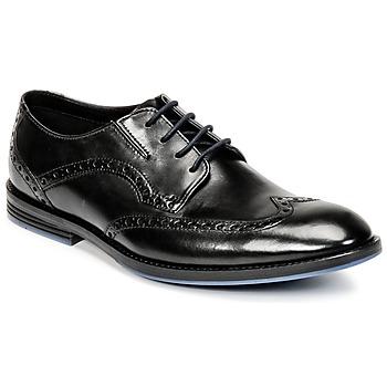 Schuhe Herren Richelieu Clarks PRANGLEY LIMIT Schwarz