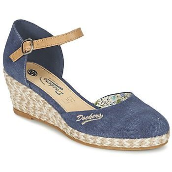 Schuhe Damen Sandalen / Sandaletten Dockers by Gerli AFINOUDE Blau