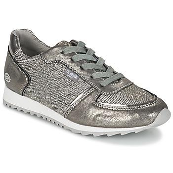 Schuhe Damen Sneaker Low Dockers by Gerli JOUVELLIA Silbern