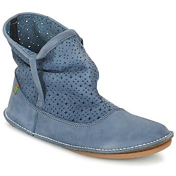 Schuhe Damen Boots El Naturalista FORMENTERA Blau