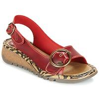 Schuhe Damen Sandalen / Sandaletten Fly London TRAMFLY Rot