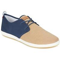 Schuhe Herren Sneaker Low Lafeyt MARTE SUMMER CHAMBRAY Marine / Beige
