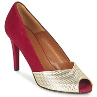 Schuhe Damen Pumps Heyraud ELOISE Rot / Gold