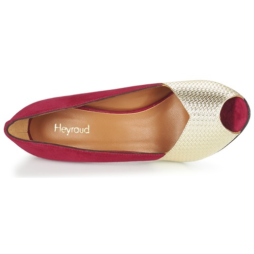 Heyraud Rot ELOISE Rot Heyraud / Gold  Schuhe Pumps Damen 151,20 9bd6e1