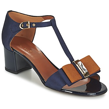 Schuhe Damen Sandalen / Sandaletten Heyraud ENAEL Blau / Braun / Schwarz