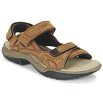 Schuhe Herren Sportliche Sandalen Asolo METROPOLIS Braun