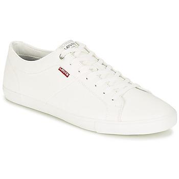 Schuhe Herren Sneaker Low Levi's WOODS Weiss