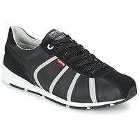 Schuhe Herren Sneaker Low Levi's ALMAYER II Schwarz / Weiss