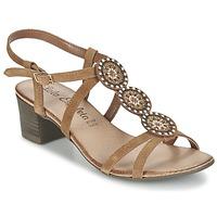 Schuhe Damen Sandalen / Sandaletten Lola Espeleta GENIAL Cognac