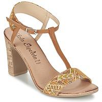 Schuhe Damen Sandalen / Sandaletten Lola Espeleta GIULIA Cognac