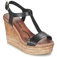 Schuhe Damen Sandalen / Sandaletten Lola Espeleta PATSY Schwarz