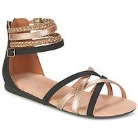 Schuhe Mädchen Sandalen / Sandaletten Bullboxer REVILZOA Schwarz / Gold