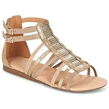Schuhe Mädchen Sandalen / Sandaletten Bullboxer JEZIANA Gold