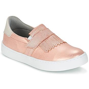 Schuhe Mädchen Slip on Bullboxer ADJAGUE Rose / Goldfarben