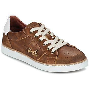 Schuhe Jungen Sneaker Low Bullboxer AJIMET Cognac