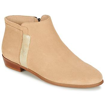 Schuhe Damen Boots M. Moustache EMMANUELLE Beige / Gold