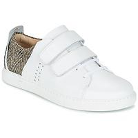 Schuhe Damen Sneaker Low M. Moustache RENEE Weiss