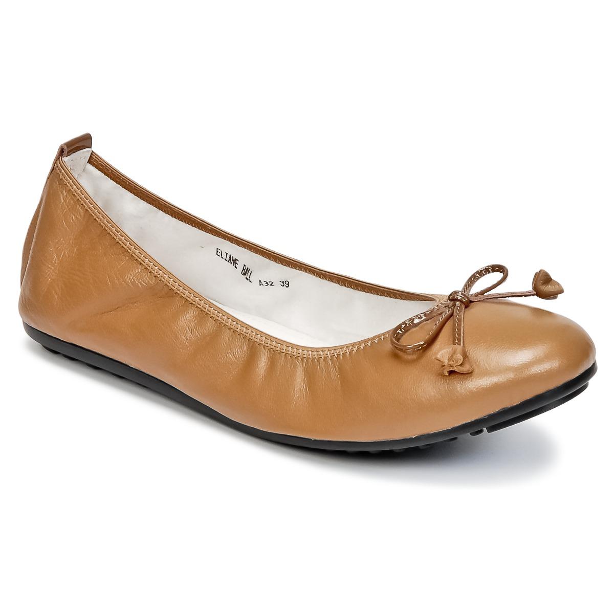 Mac Douglas ELIANE Braun - Kostenloser Versand bei Spartoode ! - Schuhe Ballerinas Damen 62,29 €