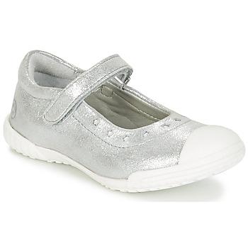 Schuhe Mädchen Ballerinas Mod'8 PRISCA Silbern