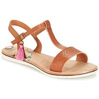 Schuhe Damen Sandalen / Sandaletten Coolway MONKY Braun