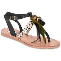 Schuhe Damen Sandalen / Sandaletten Coolway MELROSE Schwarz