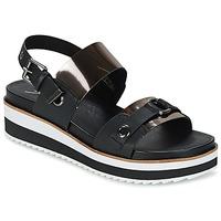 Schuhe Damen Sandalen / Sandaletten Coolway DOLPHIN Schwarz