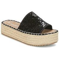 Schuhe Damen Pantoffel Coolway BORABORA Schwarz