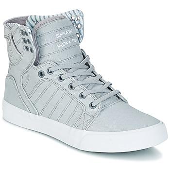 Schuhe Sneaker High Supra SKYTOP Grau