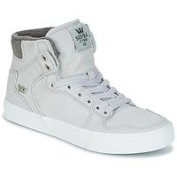 Schuhe Sneaker High Supra VAIDER Grau