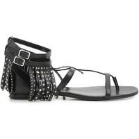 Schuhe Damen Sandalen / Sandaletten Saint Laurent 416400 B3400 1000 nero