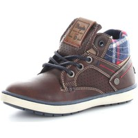 Schuhe Kinder Sneaker Low Wrangler Junior WJ16238 Sneaker Baby Coffee Coffee