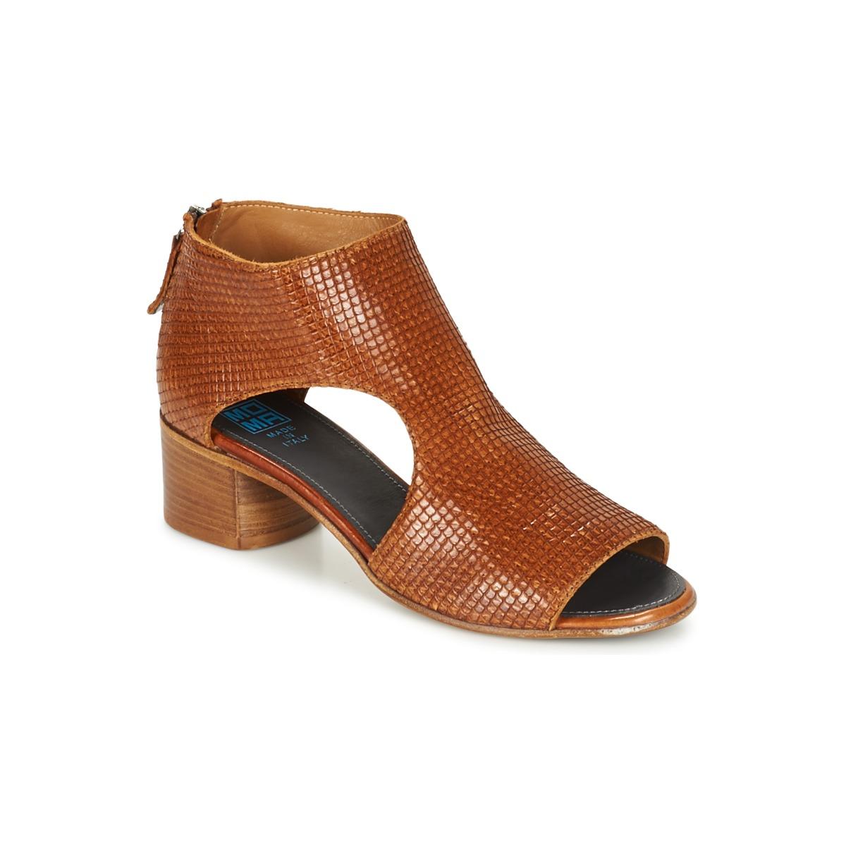 Moma JOBADA Braun - Kostenloser Versand bei Spartoode ! - Schuhe Sandalen / Sandaletten Damen 223,30 €