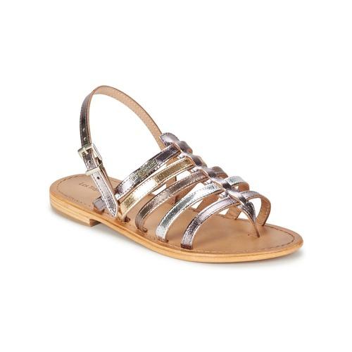 Schuhe Damen Sandalen / Sandaletten Les Tropéziennes par M Belarbi HERISSON Silbern / Multifarben