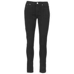 Kleidung Damen Slim Fit Jeans MICHAEL Michael Kors DNM SELMA SKINNY Schwarz